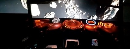 Elite Dangerous Headtracking with Kinect